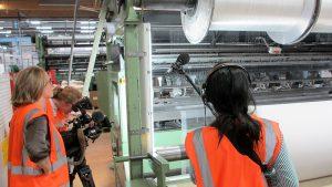 Reportage MDBTexinov ndustrie Textile
