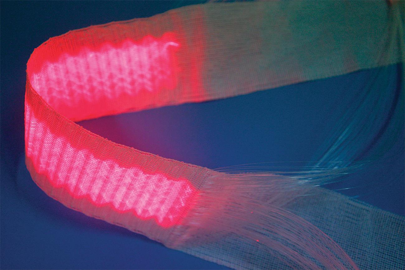 Texinov Textile Lumineux Phototherapie Rouge