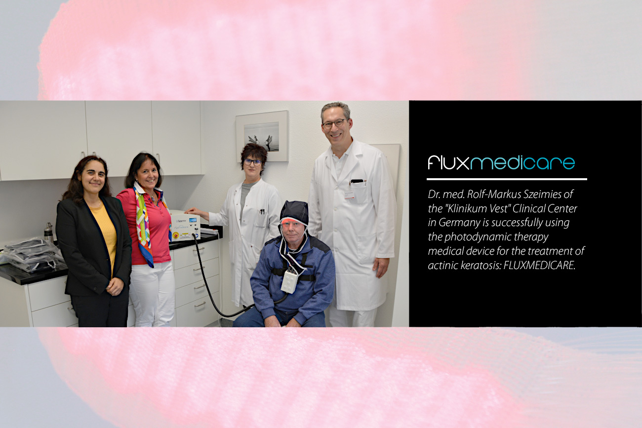 Fluxmedicare at Klinikum Vest : Photodynamic therapy PDT actinic keratosis