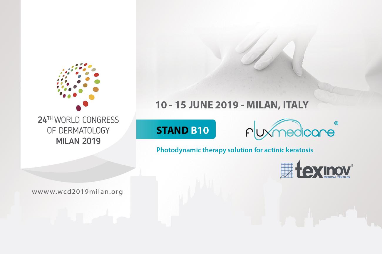 24th world congress of dermatology - Milan 2019